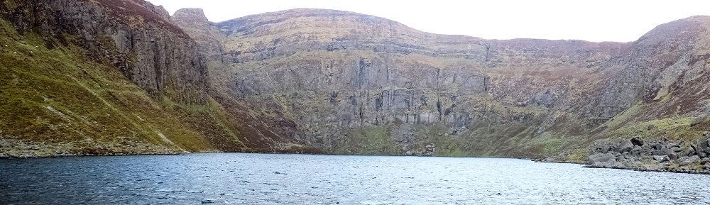 The stunning Coumshingaun Lough in the Comeragh Mountains Co. Waterford