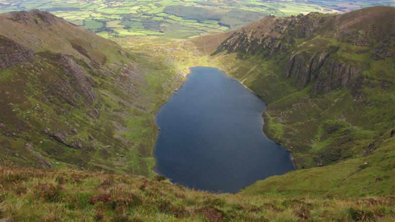 Coumshingaun, the black lake