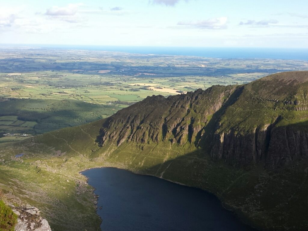 Coumshingaun Lough, Comeragh Mountains, Co. Waterford.