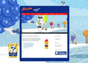 Slushee Website Screenshot
